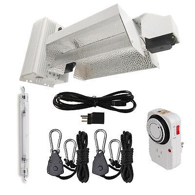 Digital Grow 1000W HPS Double Ended DE Complete Grow Light Kit system Fixture