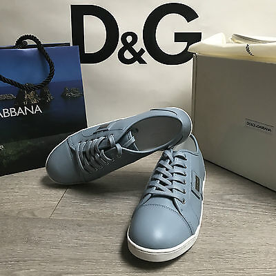 BNIB DOLCE & GABBANA Leather Sneakers Trainers RRP £135 UK 3.5 Eu 36 100%Genuine