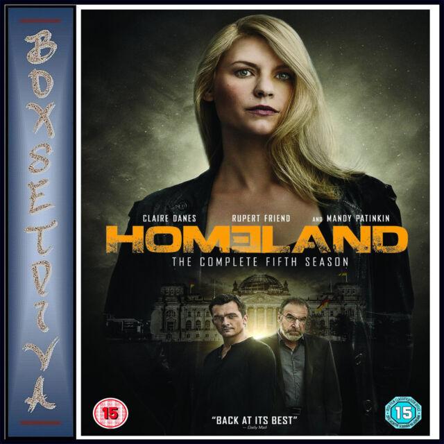 HOMELAND - COMPLETE SEASON 5 - FIFTH SEASON *BRAND NEW DVD***