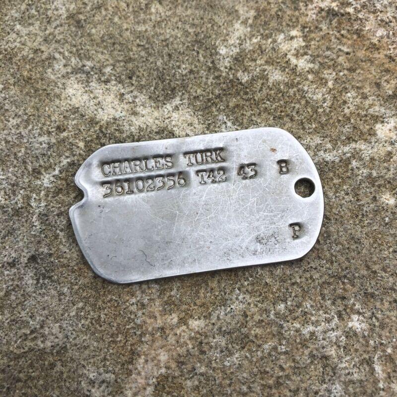 ORIGINAL WWII US Dog Tag