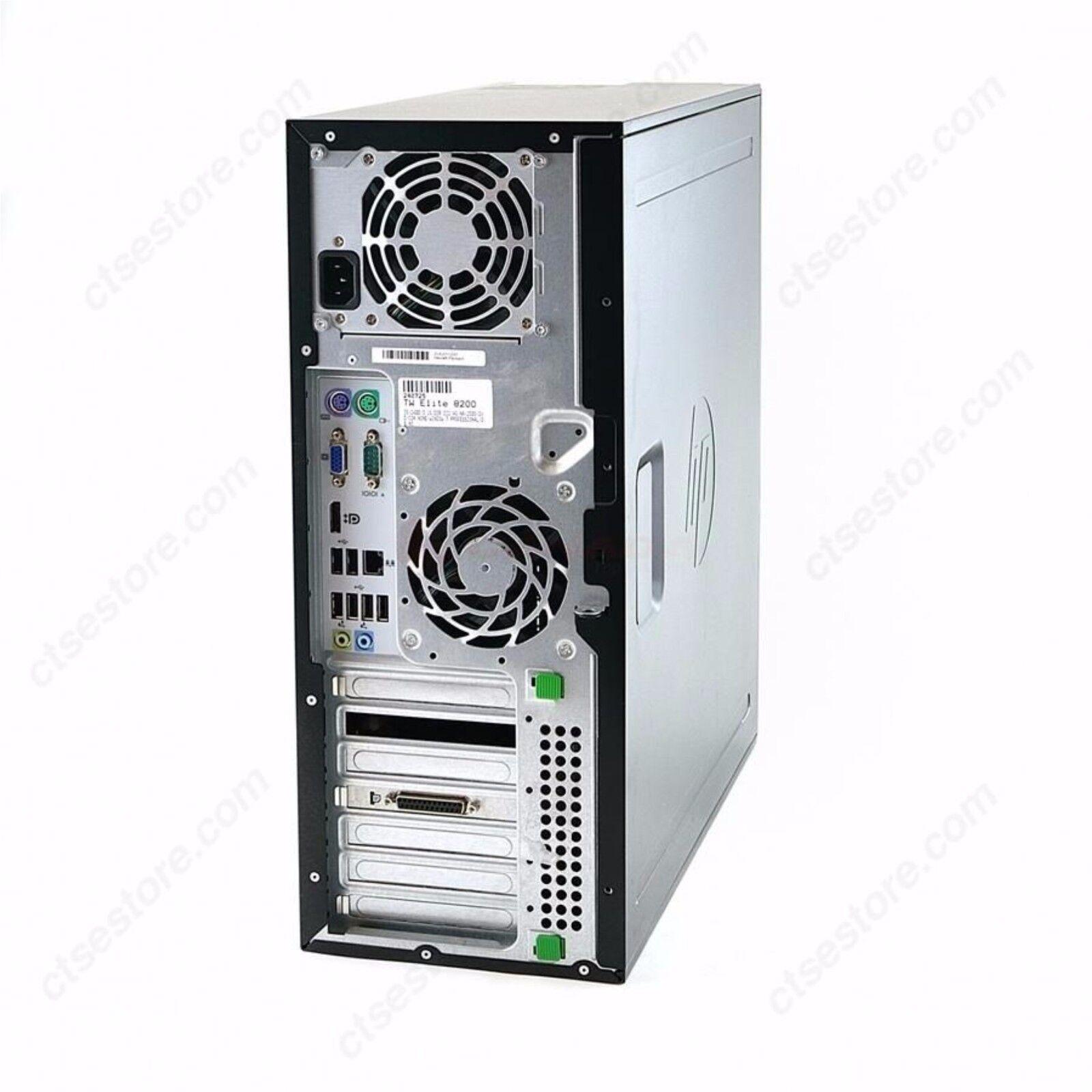 HP 8200 Elite Desktop Computer PC Tower i7 3.40GHz 16GB 1TB Windows 10 Pro 64Bit