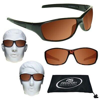 L Herren Kupfer Objektiv HD Sonnenbrille Golf Blau Blocker Fahren Rechteckige