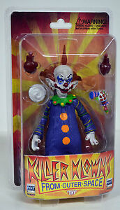 Killer Klowns from Outer Space TINY Action Figure Monstarz NIP