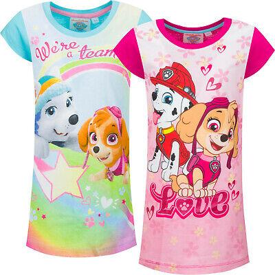 Nachthemd kurzarm 100%Baumwolle    98   104  110  116    (Paw Patrol Mädchen)