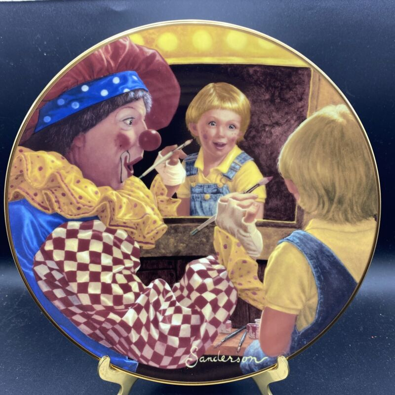 Princeton Gallery, Ruth Sanderson, Collector Plate, Make Me a Clown