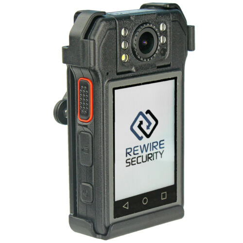 1080P HD Body Worn Camera Rewire Security RX-5 SIA Security Professional Police