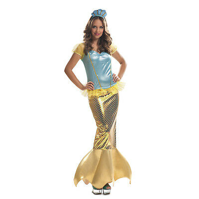 Deguisement Halloween Adulte (Adulte Femme Mer Sirène Cosplay Costume Déguisement Halloween Little)