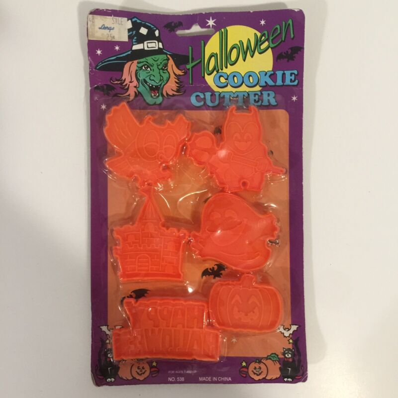 Vintage Halloween Cookie Cutters
