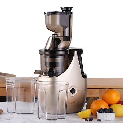 Caynel Whole Slow Masticating Juicer Cold Press Quiet Durable CPG For Veggies