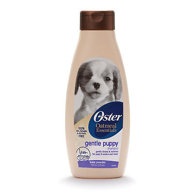 Oster Oatmeal Essentials GENTLE PUPPY SHAMPOO for Dogs BABY POWDER SCENT Cleans segunda mano  Embacar hacia Argentina