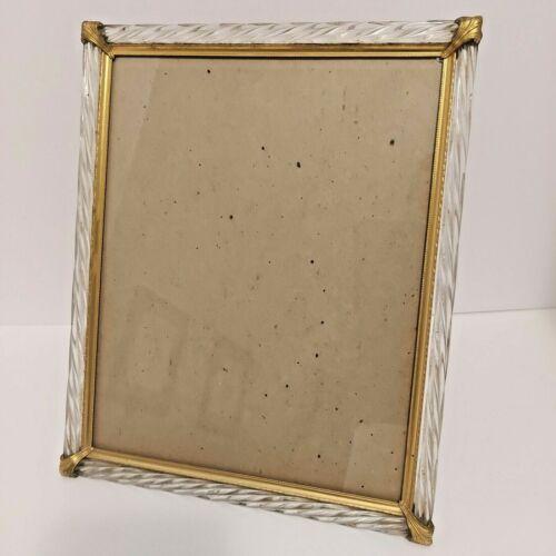 Vintage Metal /Plastic Picture Frame 8