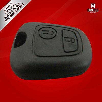 Simplex Type 2-Button Remote Key Housing Case Cover For Peugeot Peugeot 107 207