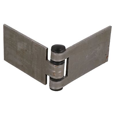 Large Weld-on Butt Hinge Heavy Duty 160x50mm Industrial Door Hatch Locker
