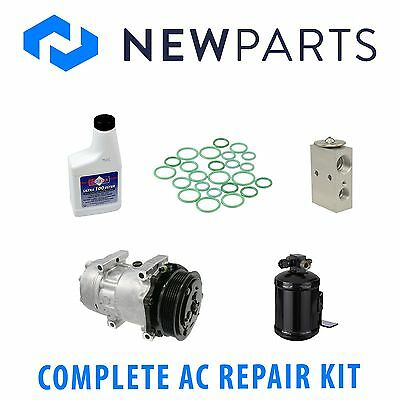 For Jeep Cherokee 94-96 4.0L Full AC A/C Repair Kit w/ New Compressor & Clutch