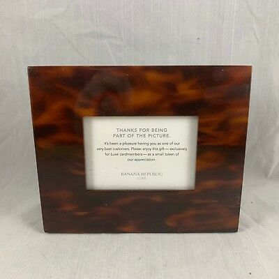 BANANA REPUBLIC LUXE CARDMEMBER EXCLUSIVE PROMO GIFT 2x3 PICTURE FRAME - RARE