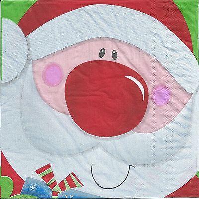 Christmas Party Supplies - Santa Print Christmas Lunch - Christmas Party Supplies