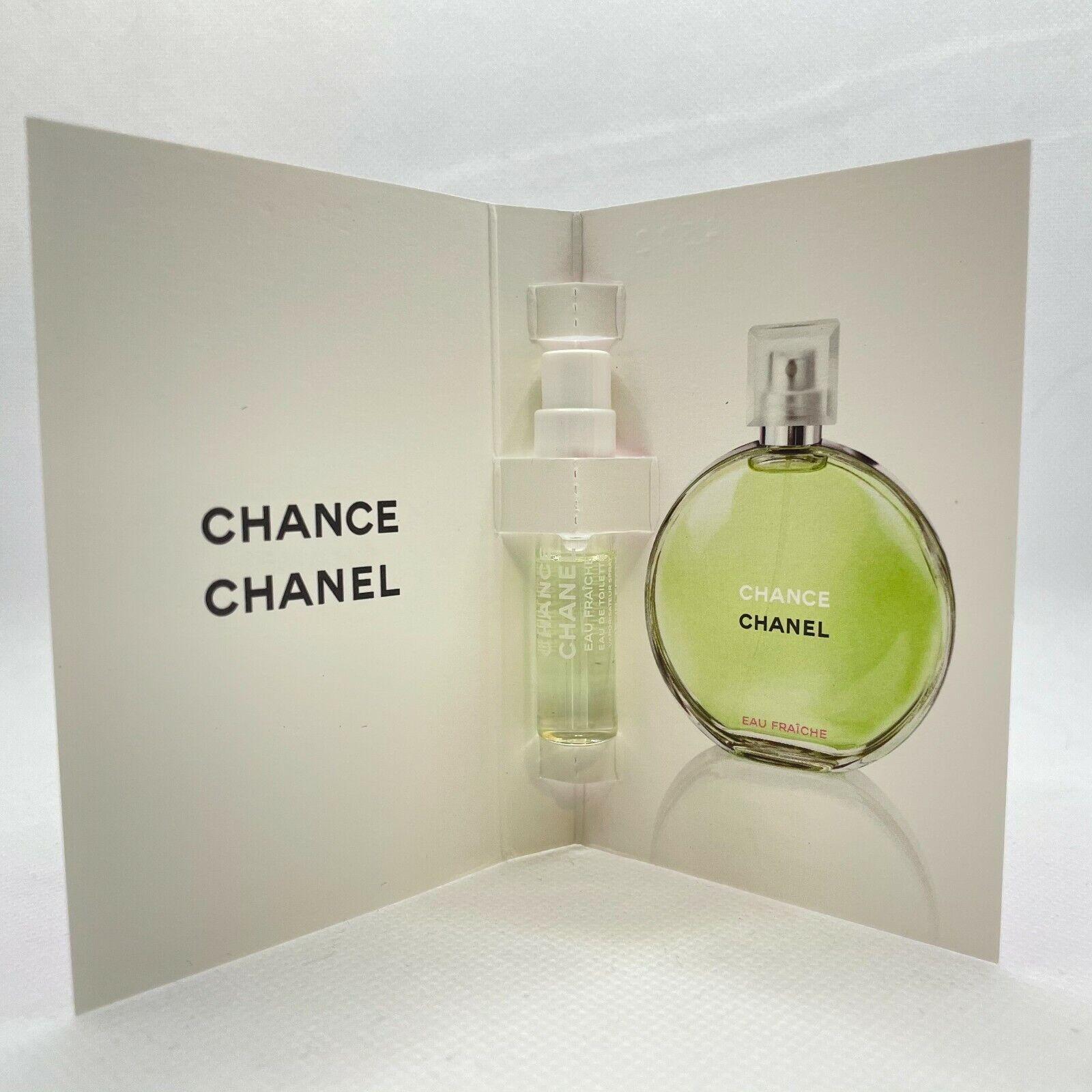 1PK3PK Chanel Chance Eau EDT Fraiche Sample Spray 15ml 005oz each