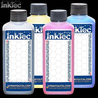 4x500ml InkTec® Tinte CISS ink für HP 940 Patrone BLACK YELLOW MAGENTA CYAN - 500ml Tinte Magenta