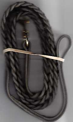 AMISH MADE 6 FT BRAIDED COW LEATHER DOG LEASH.  SUPER NICE QUANTITY