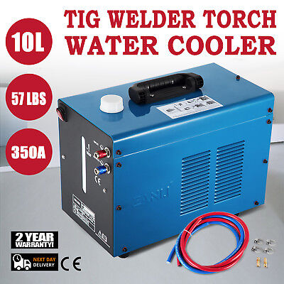 Powercool W300 Water Cooler Tig Mig Welder Torch Water Cooling System 110v 10l