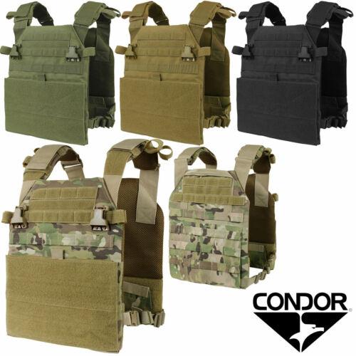 Condor 201079 Tactical MOLLE PALS Hook and Loop VAS Vanquish Plate Carrier Vest