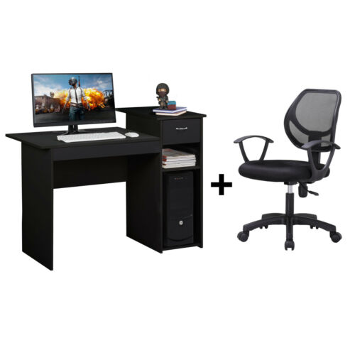 Adjustable Swivel Mesh Office Chair and Writing Table Comput