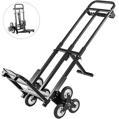 Portable Stair Climbing Folding Cart460lbs Climb Hand Truck Dolly All Terrain