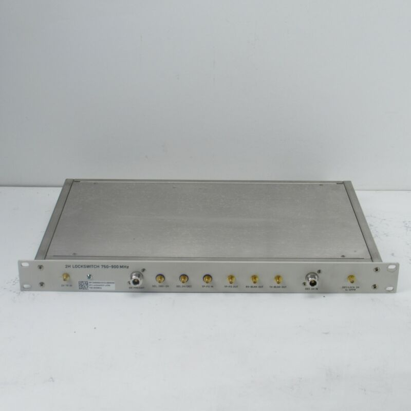 BRUKER 2H 750-900MHZ NMR LOCKSWITCH