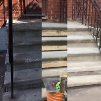 **Step, Foundation and Parging Repair- Everything Cement**