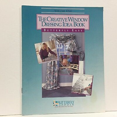 The Creative Window Dressing Idea Book 1 Illustrated Free Ship Magazine Leaflet  (Creative Dresses Ideas)