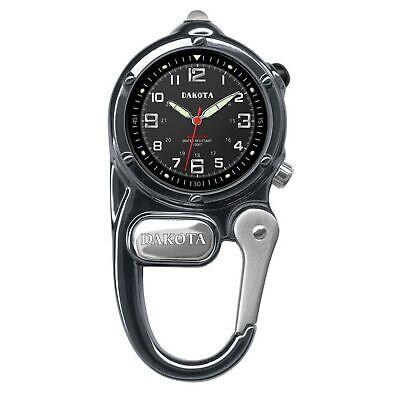 Dakota Watch Company Mini Clip Microlight Watch Gunmetal Water Resistant LED