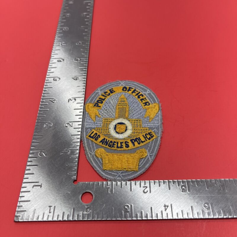 LOS ANGELES  POLICE OFFICER  patch