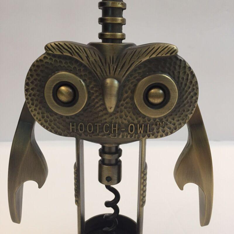 Hootch Owl Corkscrew Bottle Opener And Cork Screw Bar ware