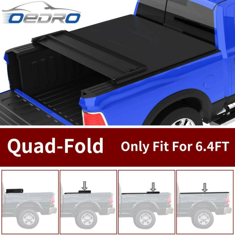 Oedro Fit For 2002 2019 Ram 1500 Short Bed 6 4 Four Quad Fold
