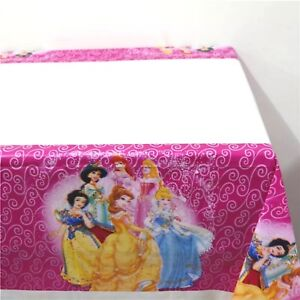 Disney Princesses Girls Plastic Party Table Cover Table Cloth Party Decor
