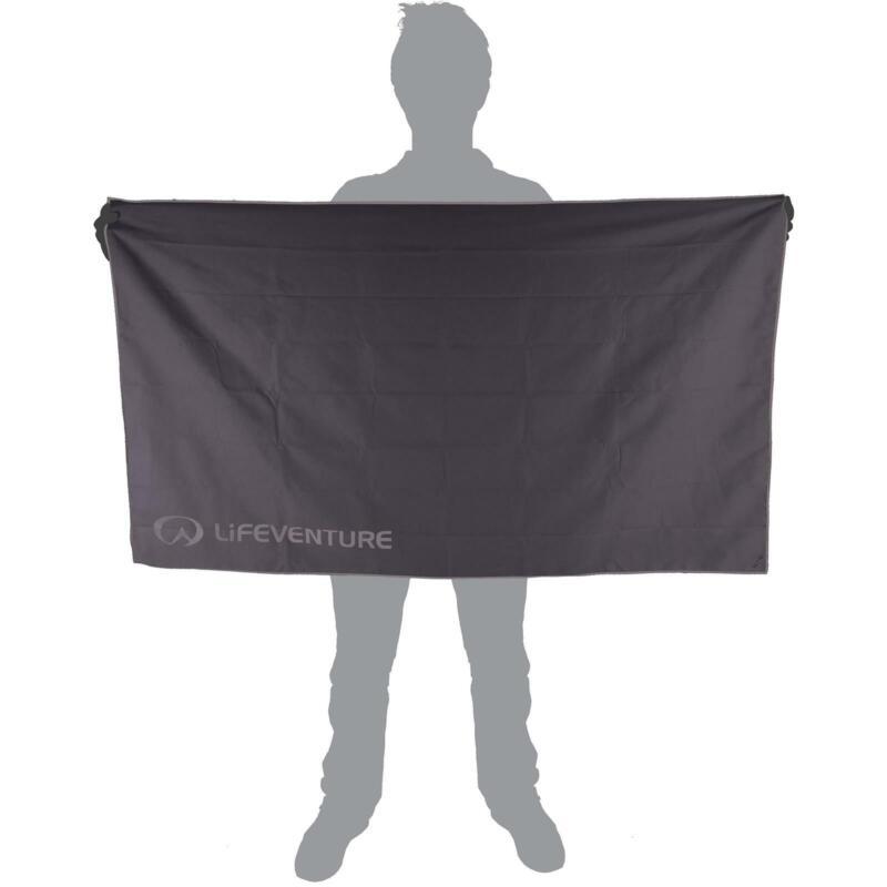 HydroFibre Trek Towel - Grey - XL