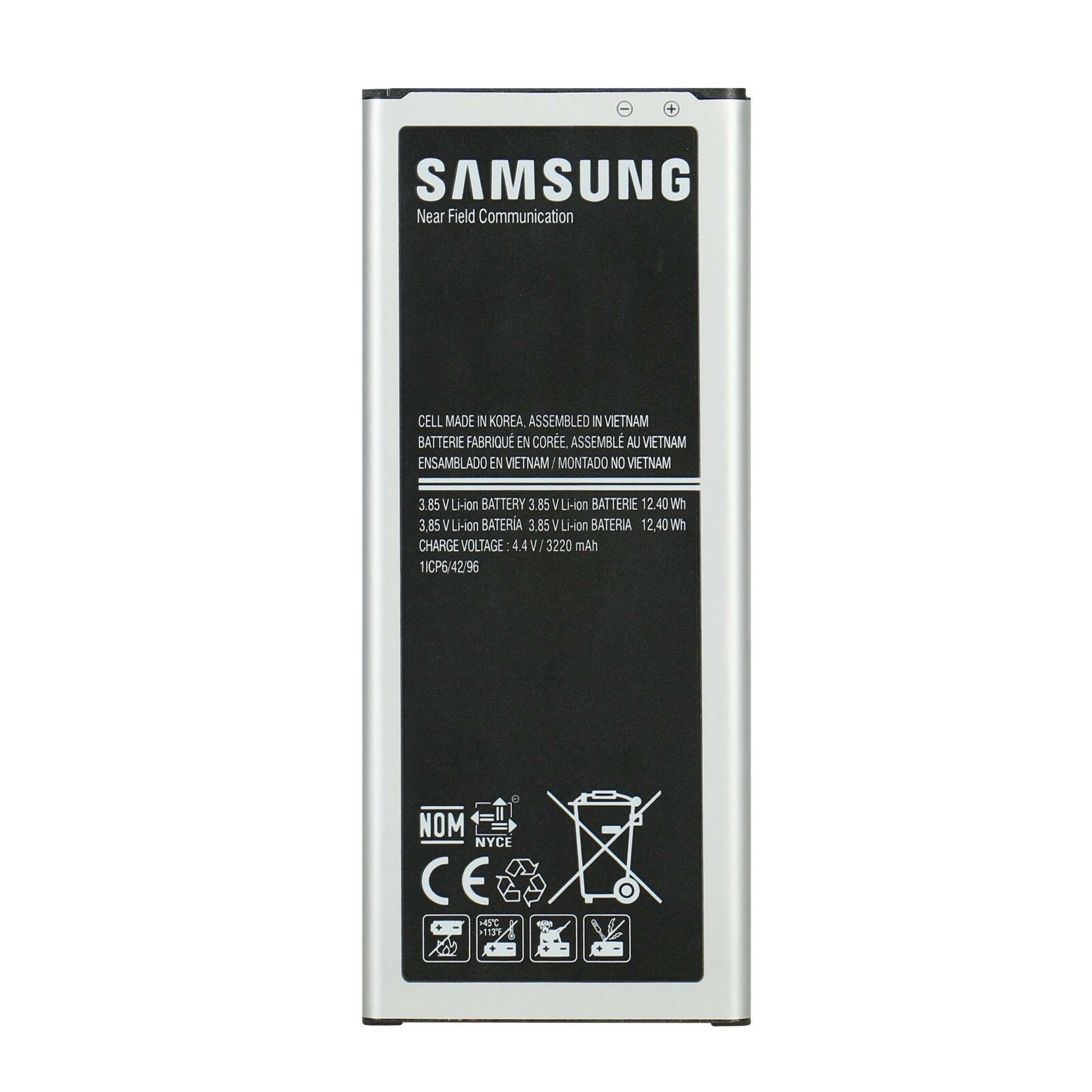 New Replacement Battery for Samsung Galaxy Note 4 N910 N910P
