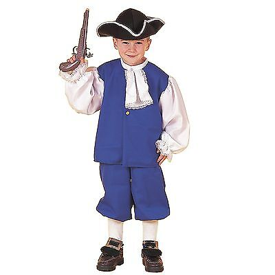 Colonial Boy Child's Costume Great for Halloween/School Plays