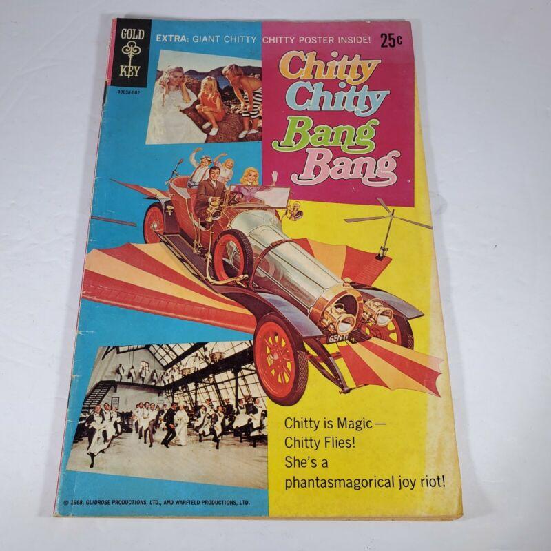 GOLD KEY COMIC CHITTY CHITTY BANG BANG. RARE