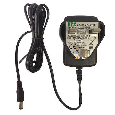 DYS DYS052-090050W-5 AC-DC Adaptor Replacement Power Supply PSU 9v DC 500ma 0.5a