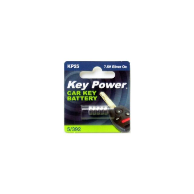 1x KeyPower Car/Van Key Fob Battery 5/392 Silver Oxide 7.5V Replacement 5/392-KP