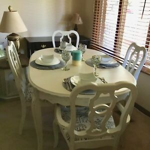 Vintage dining set ,shabby chic style