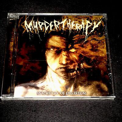 MURDER THERAPY Symmetry Of Delirium CD NEW/SEALED Metallica Slayer Megadeth