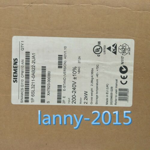 1pc New Siemens  6sl3211-0ab22-2ua1