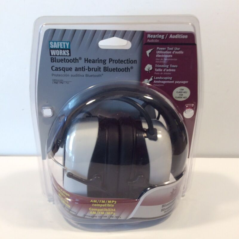 Safety Works Bluetooth Hearing Protection SWX00260 NEW