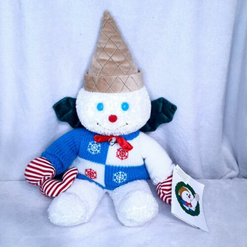 RARE NEW Mr. Bingle 2003 Large Plush snowman Dillard