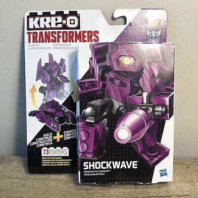 Transformers Kreo Battle Changers Shockwave Build And Transform New