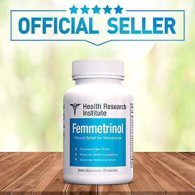 Femmetrinol Pills - 1 Bottle - Menopausal Symptom Relief - 100% Natural
