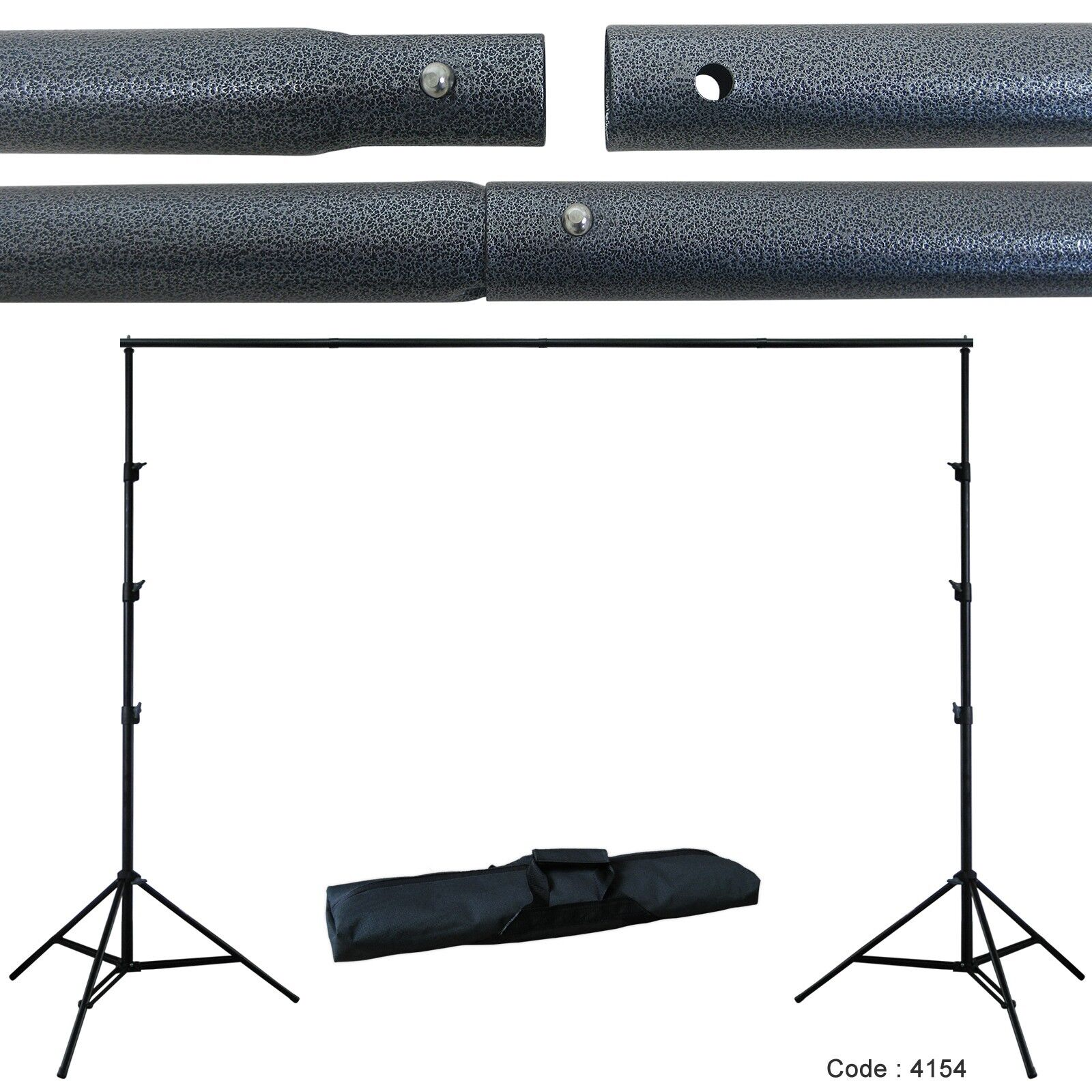 10 X 20 Chromakey Green Screen Backdrop Background Stand
