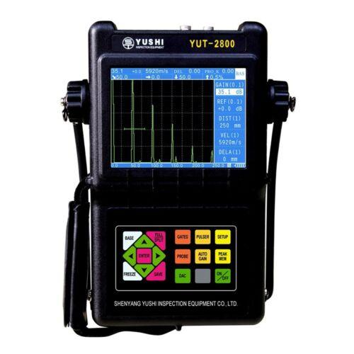 YUT2820 portable metal Ultrasonic Flaw Detector DAC&AVG Curve Range 0-4500 mm